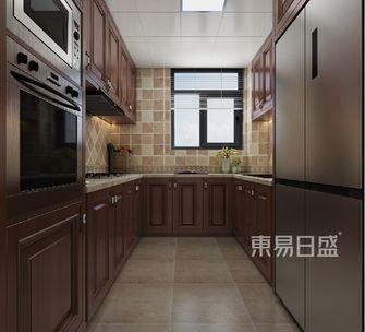 140平米三美式风格厨房图片大全