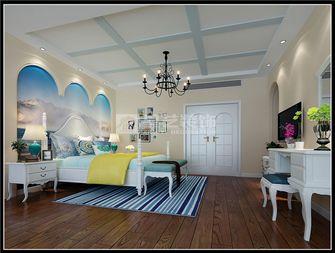 富裕型140平米复式地中海风格卧室装修图片大全