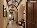 20万以上140平米别墅地中海风格走廊图片大全