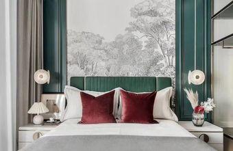 140平米四室三厅北欧风格卧室设计图