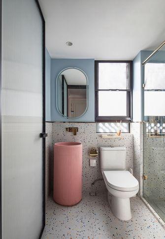 富裕型120平米三室一厅法式风格卫生间装修案例