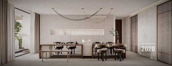 20万以上140平米四室两厅现代简约风格客厅图