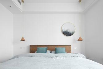 豪华型120平米三室两厅北欧风格卧室装修图片大全