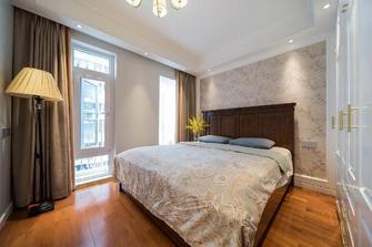 经济型100平米美式风格卧室图