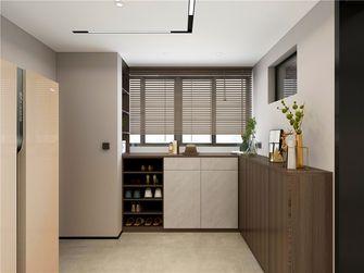 经济型110平米三室两厅现代简约风格玄关装修效果图