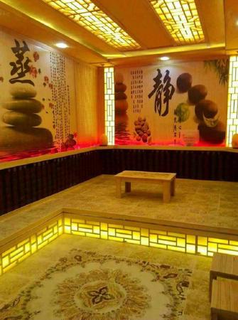 中式风格健身房装修效果图