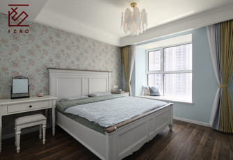 5-10万120平米三美式风格卧室设计图