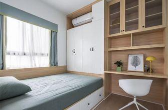 经济型90平米三室一厅日式风格青少年房图