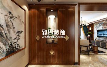 140平米三室两厅中式风格玄关图片大全