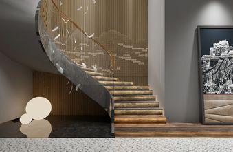 140平米复式轻奢风格楼梯间效果图