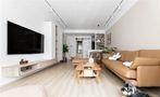 10-15万三室两厅日式风格客厅图