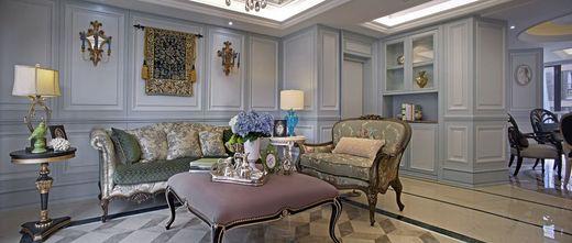 豪华型140平米四室两厅法式风格客厅装修效果图
