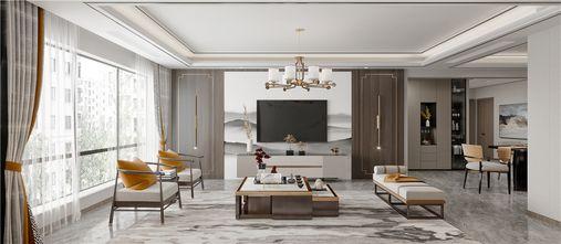 豪华型140平米四中式风格客厅图片大全