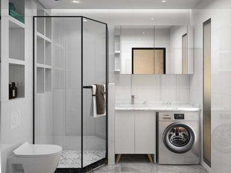 5-10万60平米一室一厅日式风格卫生间设计图