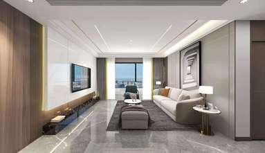 140平米四室一厅轻奢风格客厅效果图