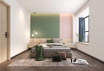 140平米四室两厅北欧风格卧室装修图片大全