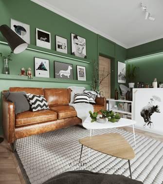 5-10万30平米小户型北欧风格客厅图片大全