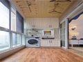 富裕型70平米美式风格阳台装修图片大全