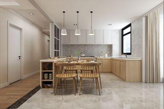 140平米北欧风格厨房欣赏图