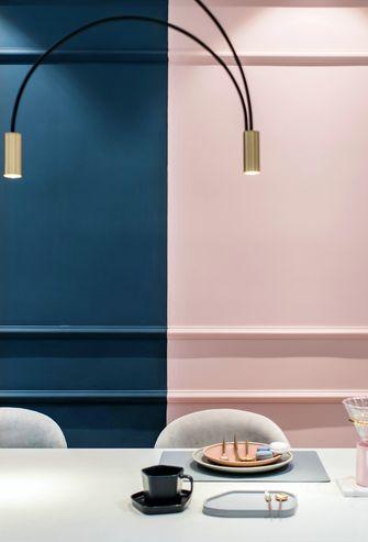 10-15万90平米三室一厅北欧风格餐厅装修图片大全