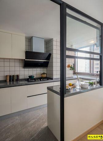 富裕型120平米三室两厅混搭风格厨房效果图