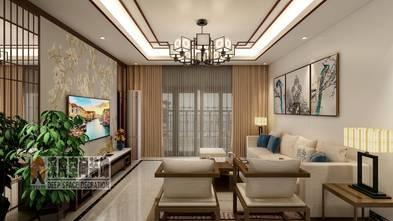 经济型90平米中式风格客厅欣赏图