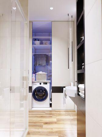 5-10万50平米一居室现代简约风格卫生间设计图