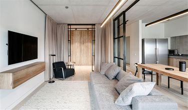 富裕型90平米三室一厅日式风格客厅图