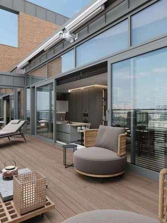 10-15万三室两厅港式风格阳光房图