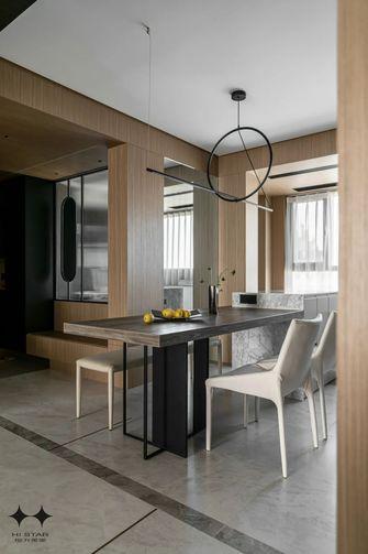 140平米四室一厅北欧风格餐厅图片