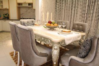 富裕型100平米欧式风格餐厅欣赏图