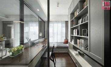 100平米三室两厅现代简约风格书房效果图