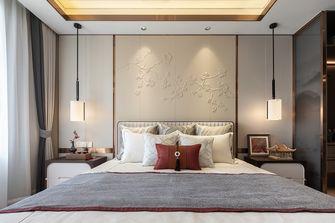 富裕型三中式风格卧室装修效果图