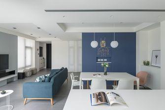 5-10万三室一厅北欧风格客厅图片