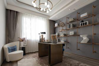 豪华型140平米四室两厅混搭风格书房装修案例