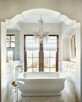 3万以下110平米三室一厅地中海风格客厅图片大全