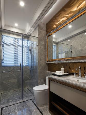 富裕型130平米三室两厅新古典风格卫生间图片大全