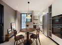 经济型60平米一居室混搭风格餐厅效果图