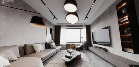 3万以下120平米三英伦风格客厅图片大全