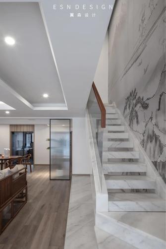 豪华型140平米四室三厅中式风格楼梯间图