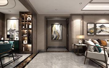 富裕型130平米三室两厅中式风格走廊图片大全