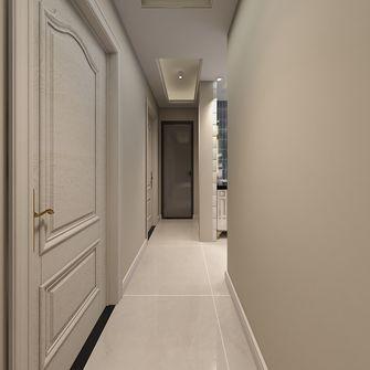 富裕型110平米一室一厅欧式风格走廊图
