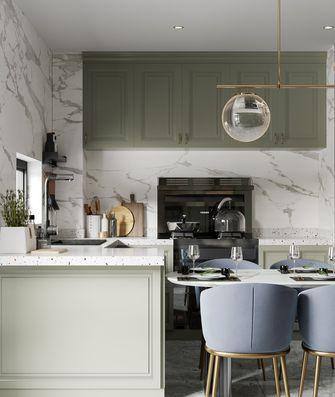 经济型120平米三室三厅美式风格客厅装修案例