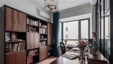 15-20万110平米三室两厅混搭风格书房设计图
