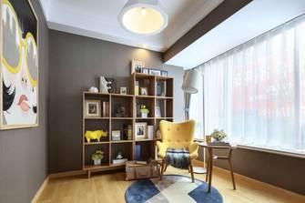 经济型60平米一室一厅北欧风格书房装修案例