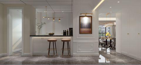 140平米复式欧式风格客厅图片大全