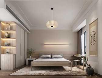 10-15万120平米三室一厅现代简约风格卧室效果图
