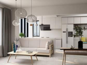 豪华型100平米三室三厅欧式风格客厅装修案例
