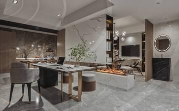 140平米三轻奢风格餐厅设计图