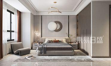 富裕型120平米三中式风格卧室图